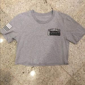 Vintage national guard tee shirt